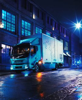 TSB transporte y logística Volvo camión eléctrico FL