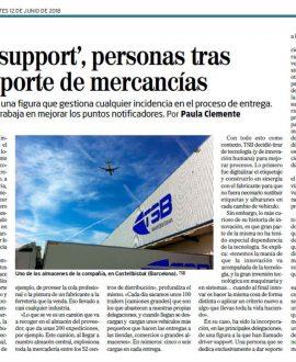TSB transporte y logística - Suplemento Innovadores El Mundo 12 junio 2018 web