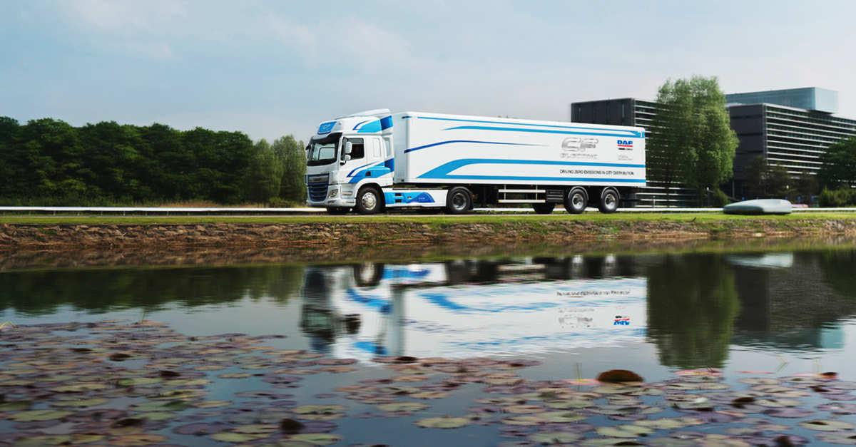 TSB transporte y logística DAF eléctricos