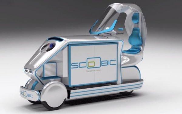 TSB transporte y logística Scoobic