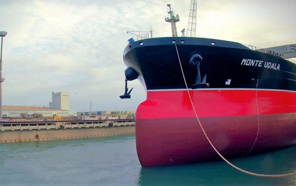 TSB transporte y logística Navantia Suezmax Monte Udala