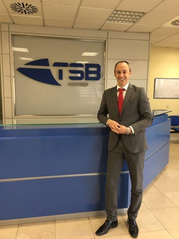 TSB transporte y logística - Miguel Ferrándiz nuevo Director Comercial delegación TSB Madrid 02
