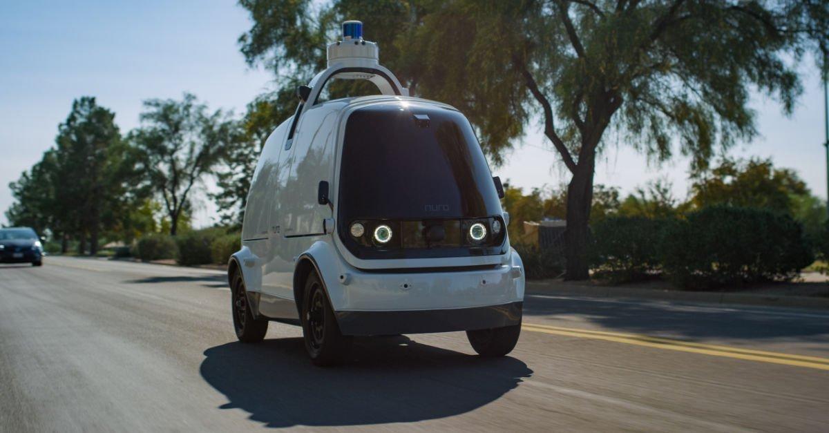 TSB transporte y logística - Nuro vehículo de reparto eléctrico 001