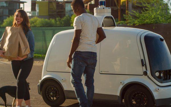 TSB transporte y logística - Nuro vehículo de reparto eléctrico 002