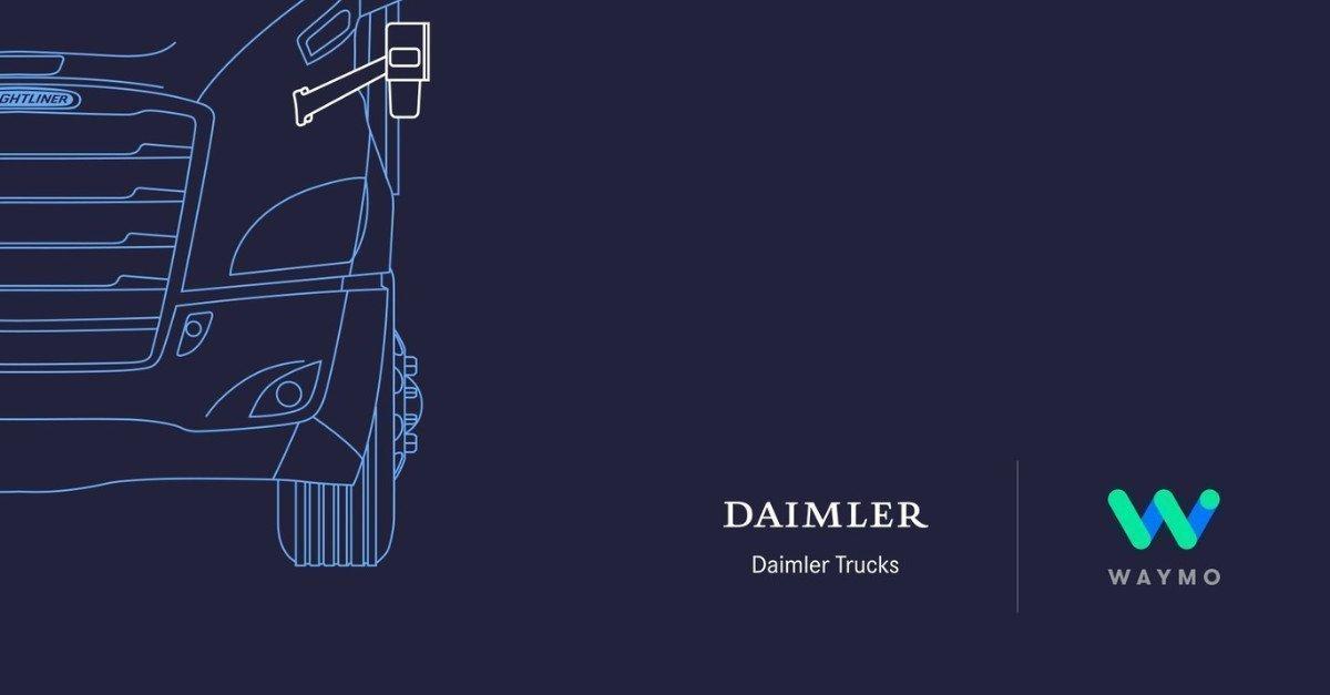 Acuerdo Daimler Waymo TSB transporte y logística