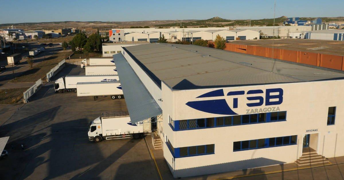 TSB transporte y logística nuevas instalaciones delegación Zaragoza