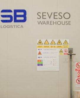 TSB transporte y logística SEVESO Warehouse Camarma de Esteruelas